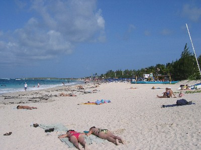 orient beach is a gorgeous beach on the french north side of the