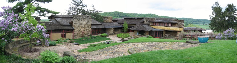 Pictures from Taliesin in Spring Green, Wisconsin