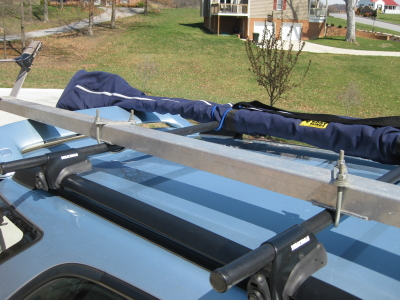 Suggestions For Car Topping A Rowing Shell