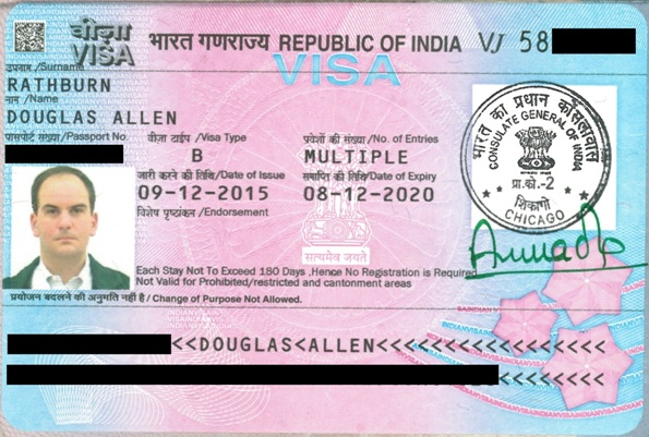Obtaining A Visa For India Travel